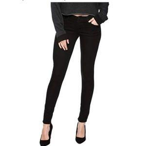 Flying monkey skinny black jeans